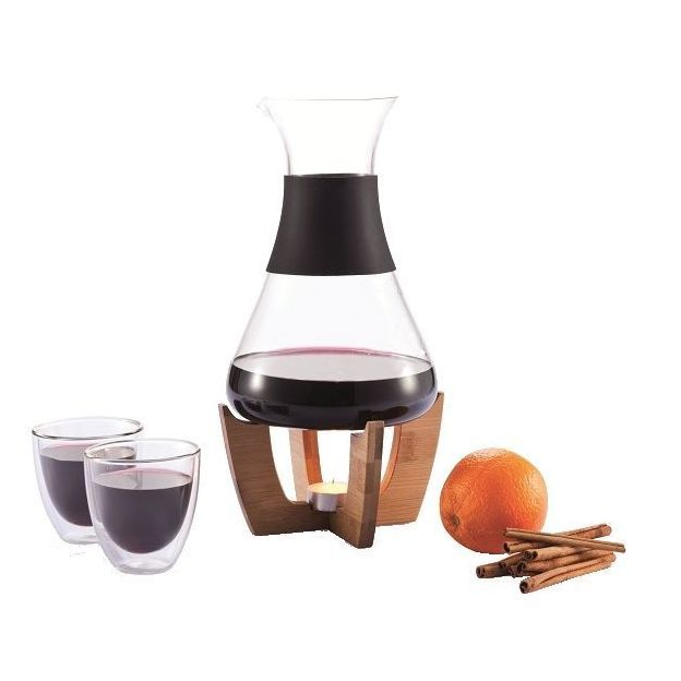 Set vin chaud avec tasses