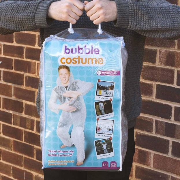 Costume à bulles Bubble Wrap