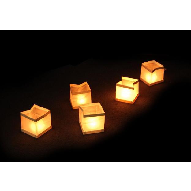 Lanternes flottantes set de 10