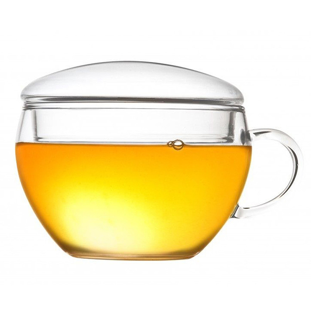Tasse de thé Creano en verre borosilicate