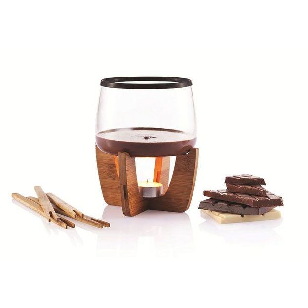 Cocoa Schokoladenfondue Set