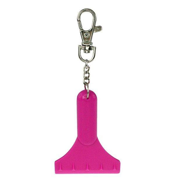 Mini Eiskratzer Schlüsselanhänger pink