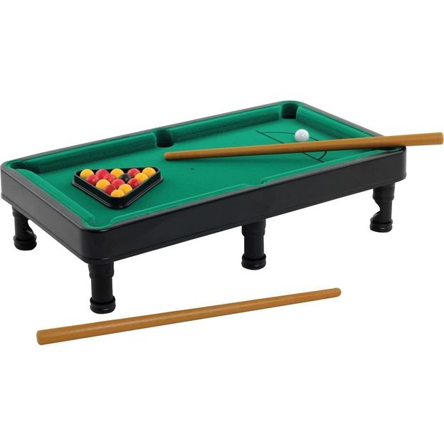 Mini Billard - rot und orange