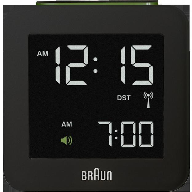 Braun Digital LCD Funkwecker