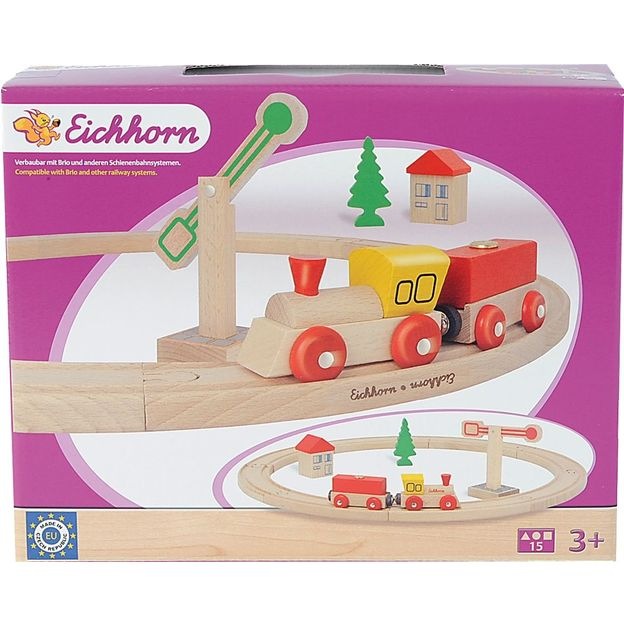 Eisenbahn Set 15-teilig von Eichhorn