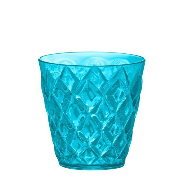 Koziol Gobelet Crystal S 200ml lagune bleu
