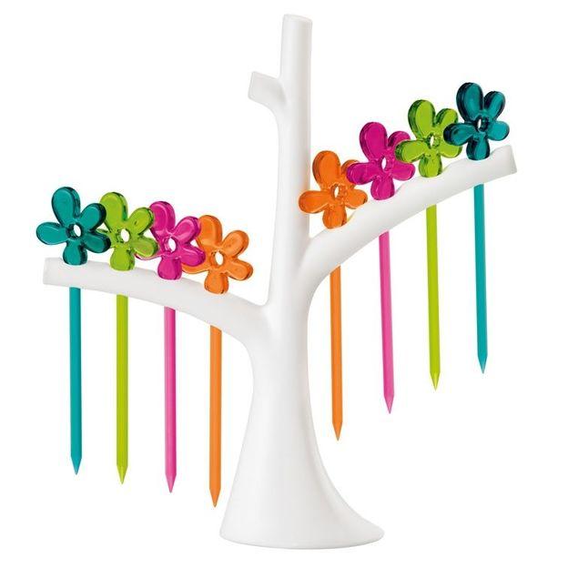 A-pril Party Piekser Set mit Baum von Koziol