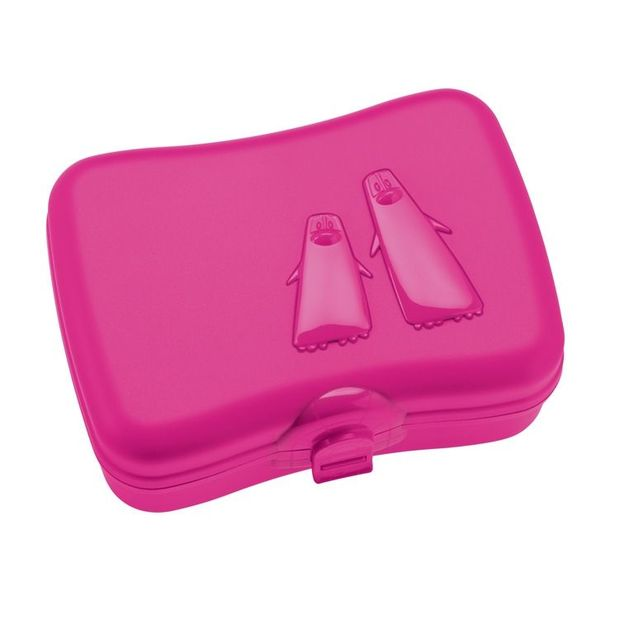 Boîte à casse-croûte Ping Pong de Koziol rose