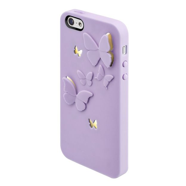 Coque Iphone 5 SwitchEasy Kirigami Lavender Wings