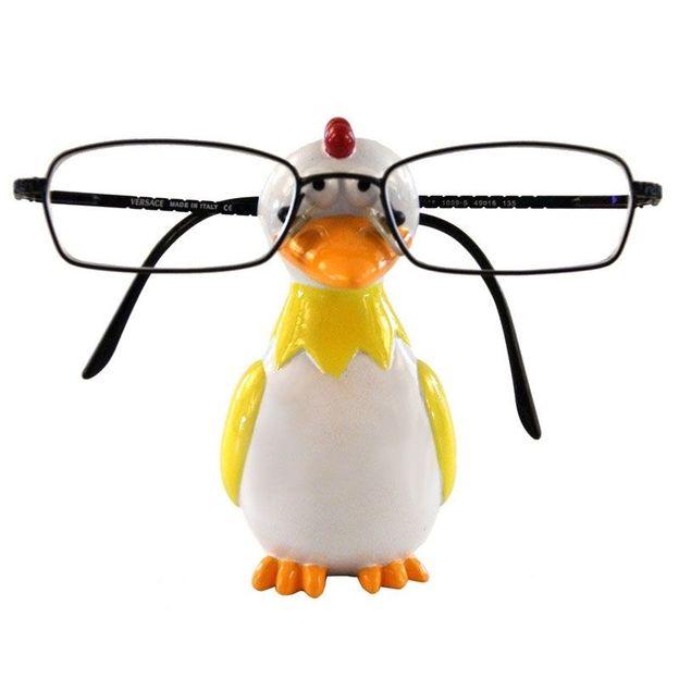 Brillenhalter Hahn