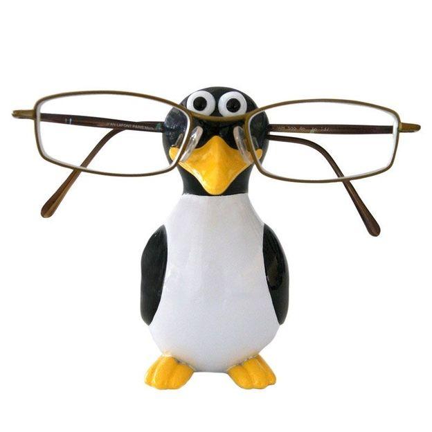 Brillenhalter Pinguin