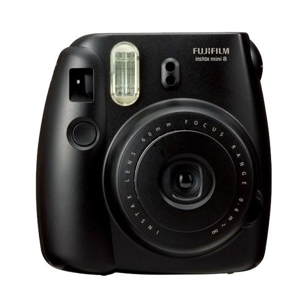 Fuji Instax Mini 8 - photos instantanées noire