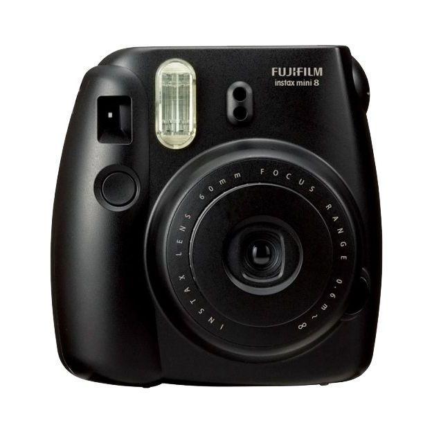 Fujifilm Instax Mini 8 Sofortbildkamera Set schwarz