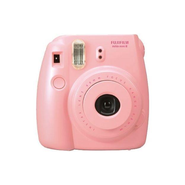 Fuji Instax Mini 8 - photos instantanées rose