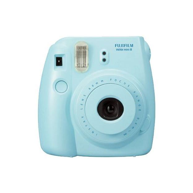 Fuji Instax Mini 8 - photos instantanées bleu
