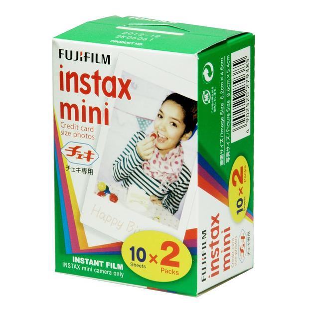 Fujifilm Pellicule Mini Instax 2 x 10