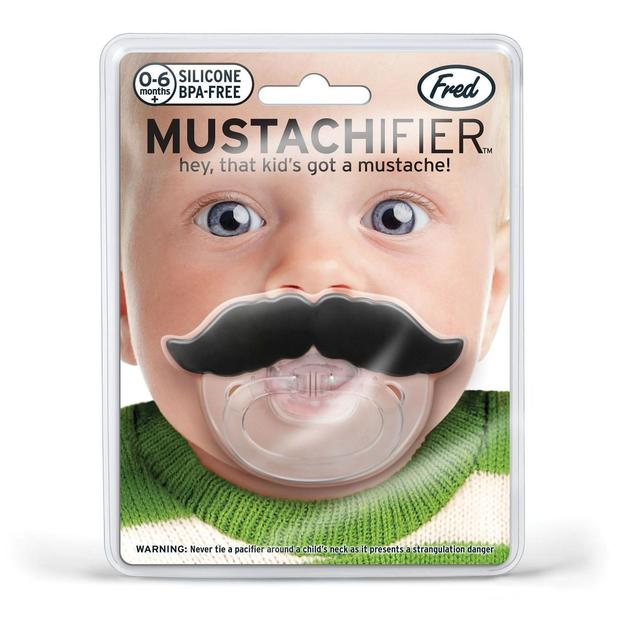 Moustache Schnuller