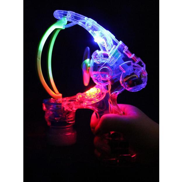 Gigantische LED Seifenblasen Pistole