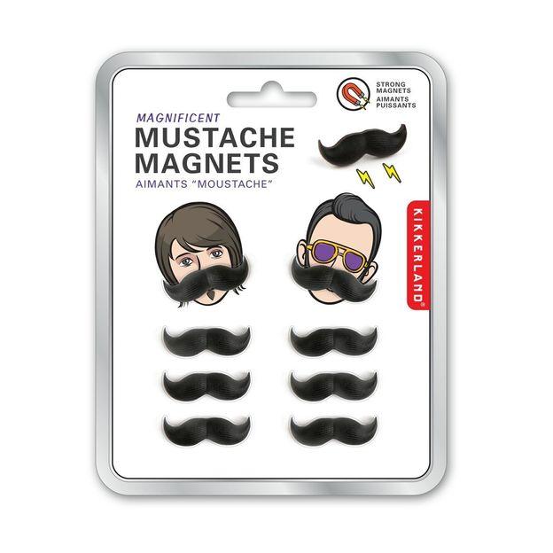Moustache Magnete 8er Set