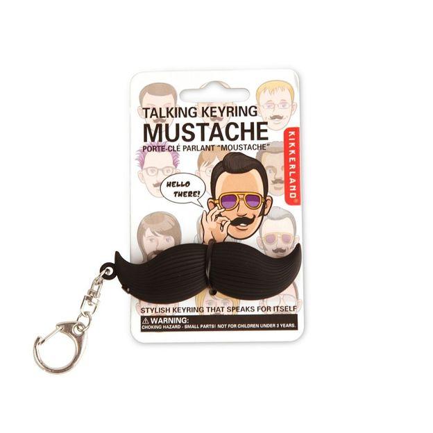 Moustache Schlüsselanhänger