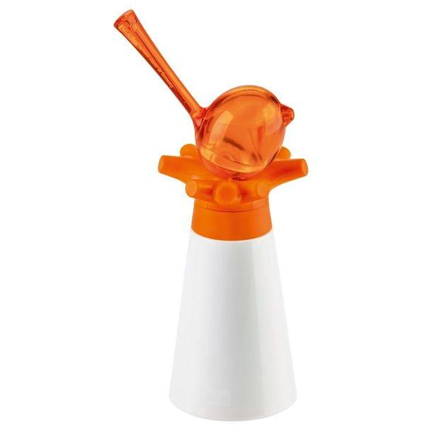 Pfeffermühle mit Salzstreuer Pi:p von Koziol orange
