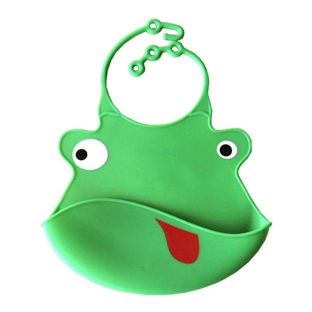 Silikon Lätzchen Frosch