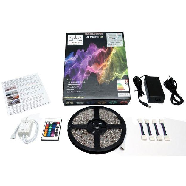 Kit ruban LED rgb et télécommande