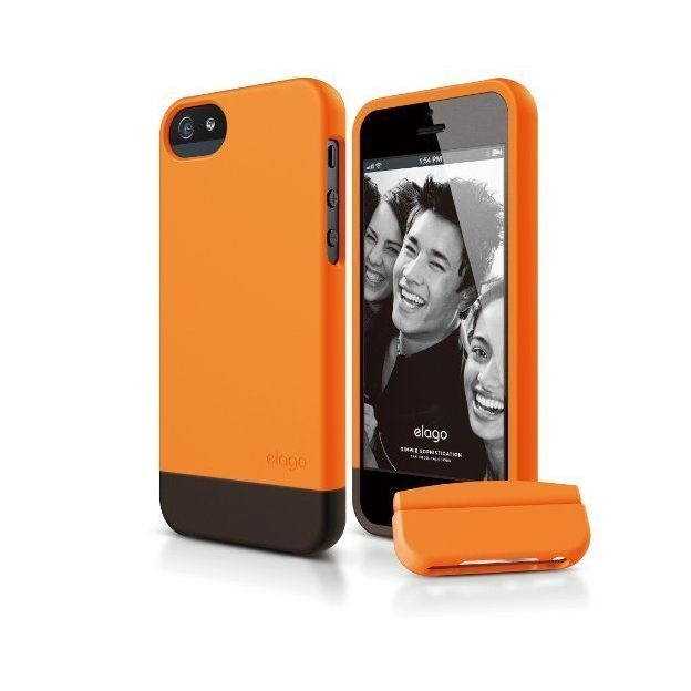 Elago S5 iPhone 5/5S Schutzhülle orange