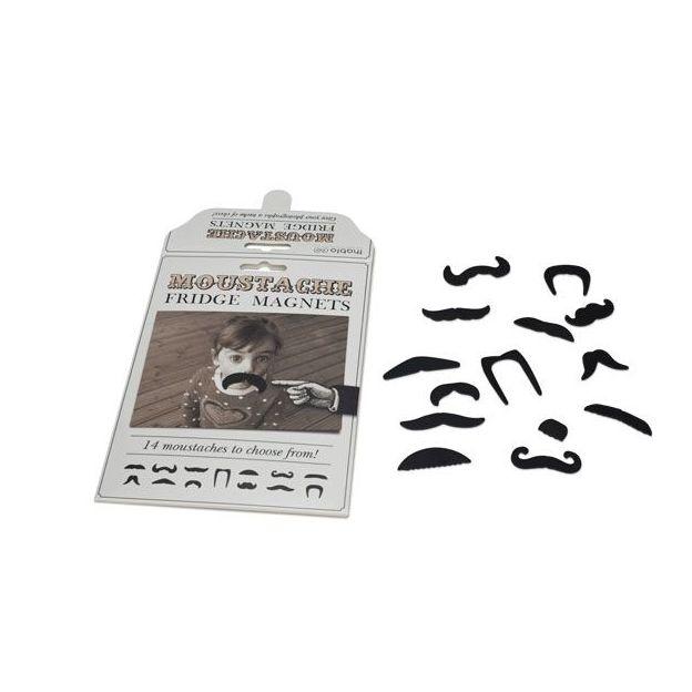 Moustache Kühlschrank-Magnete (14er Pack)