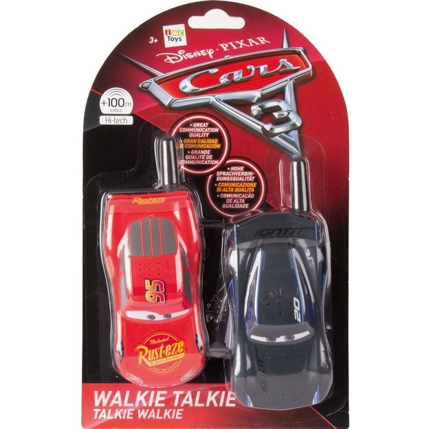 Walkie Talkie Cars Jackson Storm - Lightening McQueen