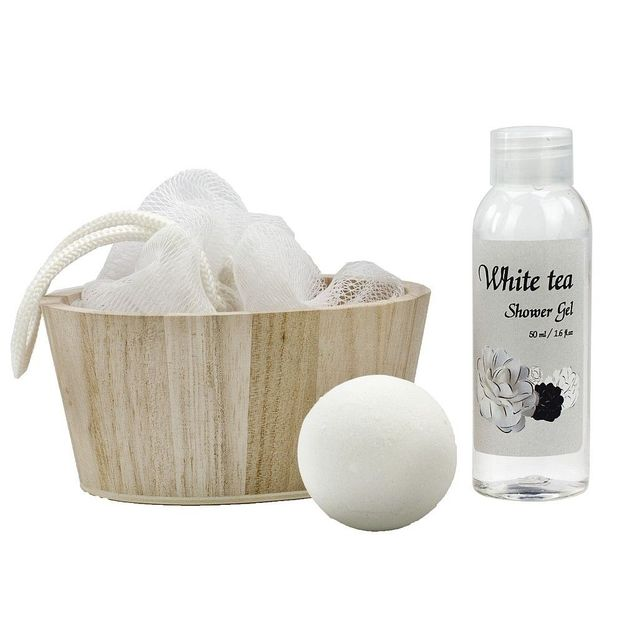 Geschenkset Wellness White in Balance