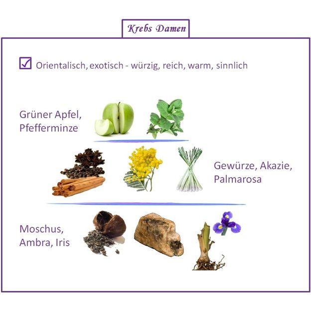 Parfum Signe du Zodiaque Cancer femme