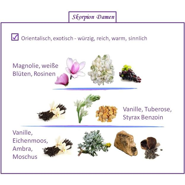 Sternzeichen Skorpion - Eau de Parfum für Frau