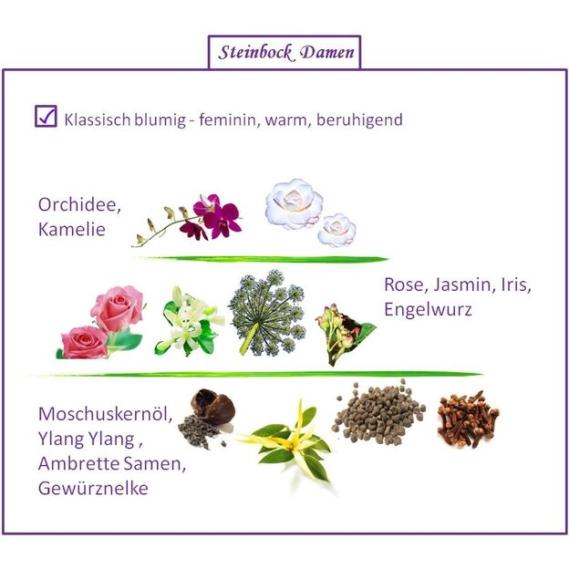 Sternzeichen Steinbock - Eau de Parfum für Frau