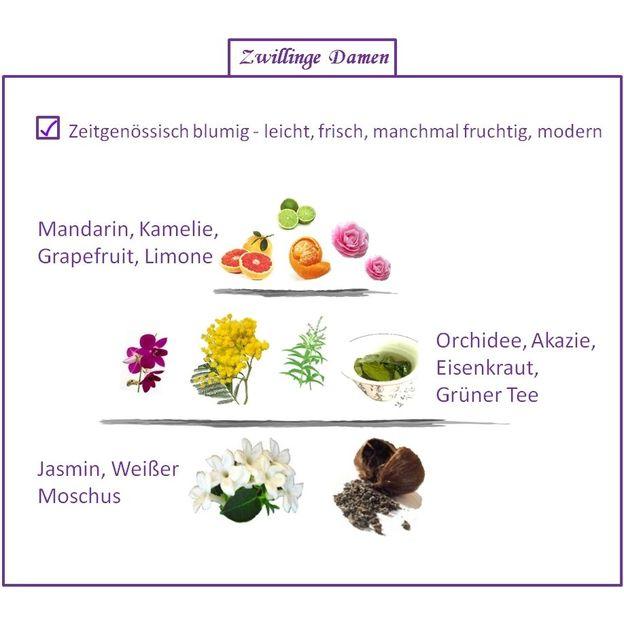 Sternzeichen Zwillinge - Eau de Parfum für Frau