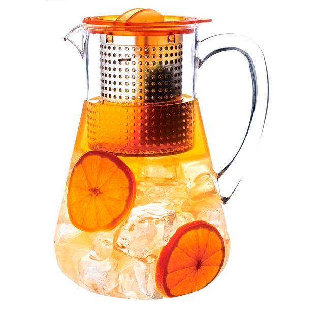 Carafe pour thé glacé Finum orange