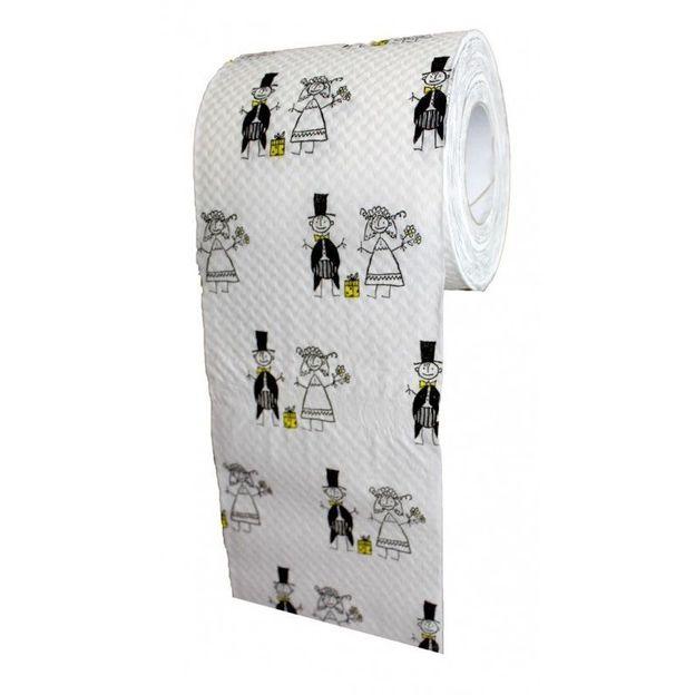 Toilettenpapier Hochzeit