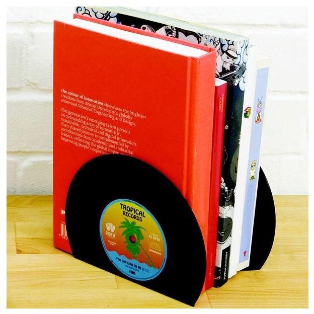Schallplatten Buchstütze 2er Set