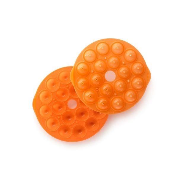 Moule à pop cakes de Lékué orange