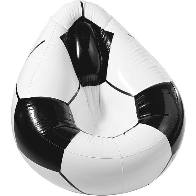 Fussball-Sessel aufblasbar