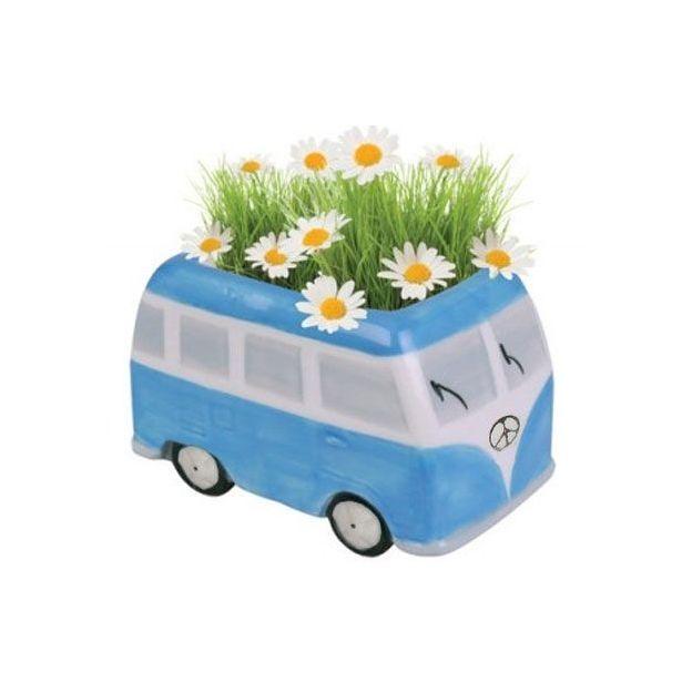 Flower-Power Gänseblümchen Bus