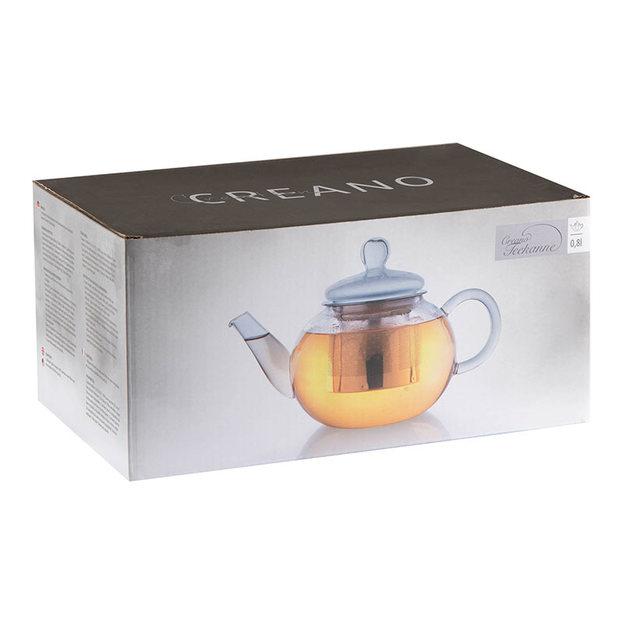 Théière en verre Creano avec filtre