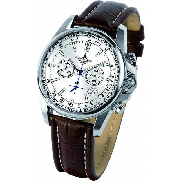Jacques Lemans Herrenuhr Liverpool brown
