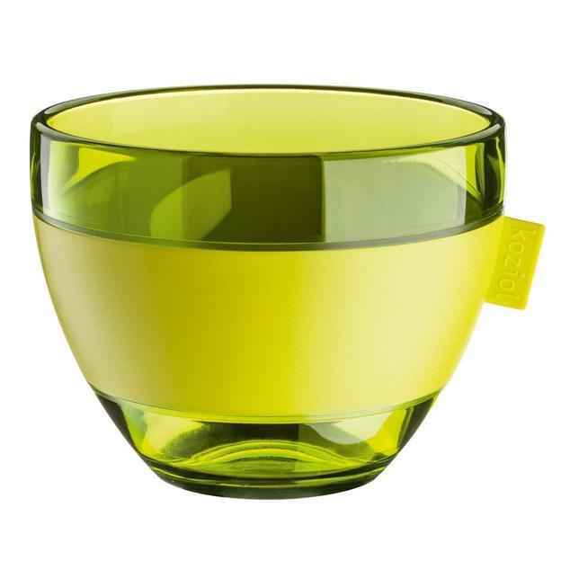 Aroma M Thermotasse von Koziol senfgrün