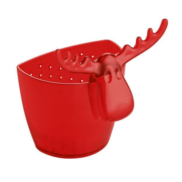 Passoire à thé Rudolf de Koziol rouge