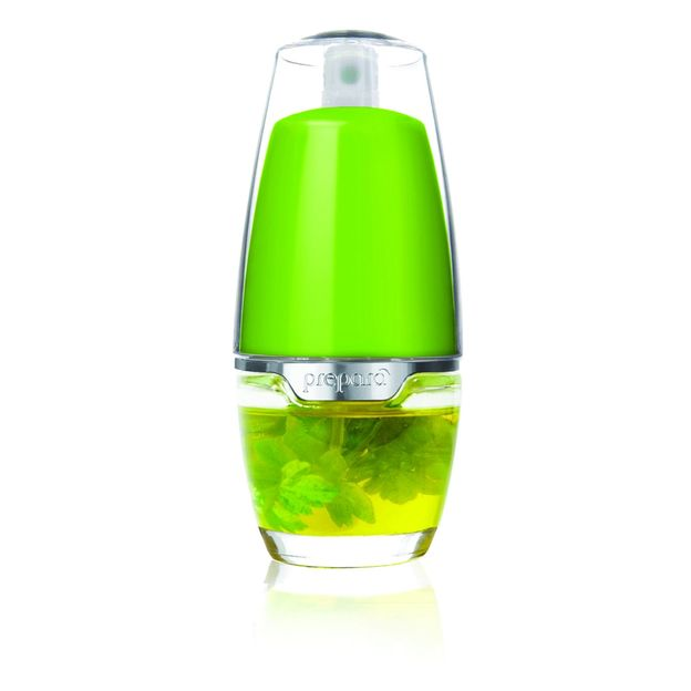 Essig und Ölspray von Prepara grün