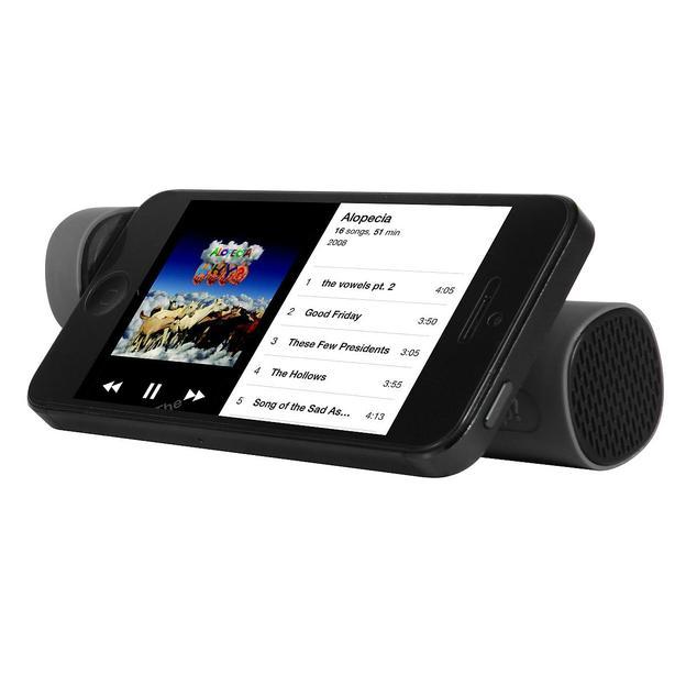 Pile externe avec haut-parleur et support