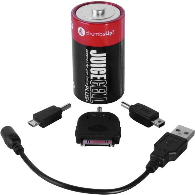 Notfallladegerät für Smartphones im Batterie-Design