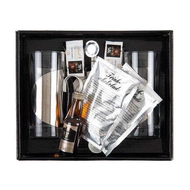 Lumumba set chocolat chaud avec rhum