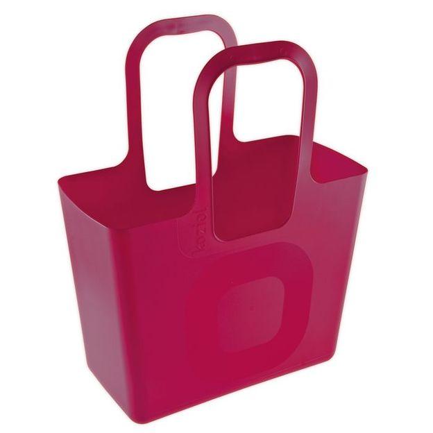 Tasche Tasche XL himbeer rot von Koziol